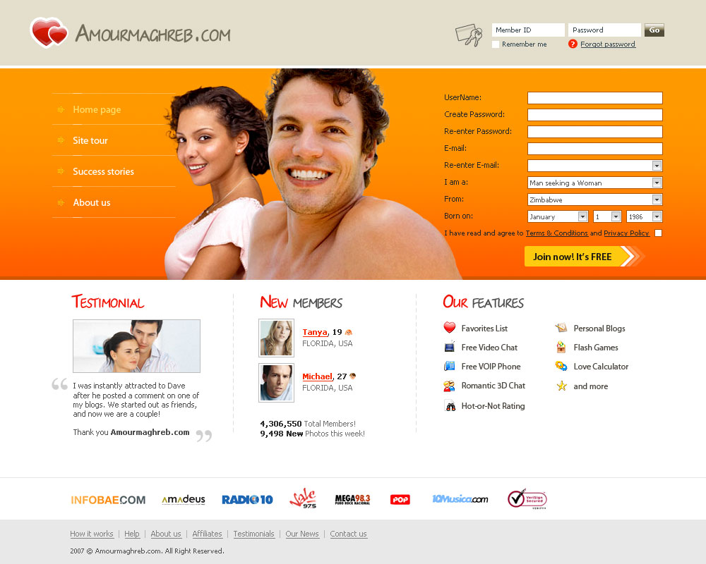 100 dating site in usa