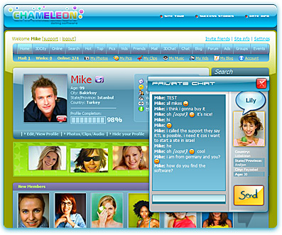Free dating software script