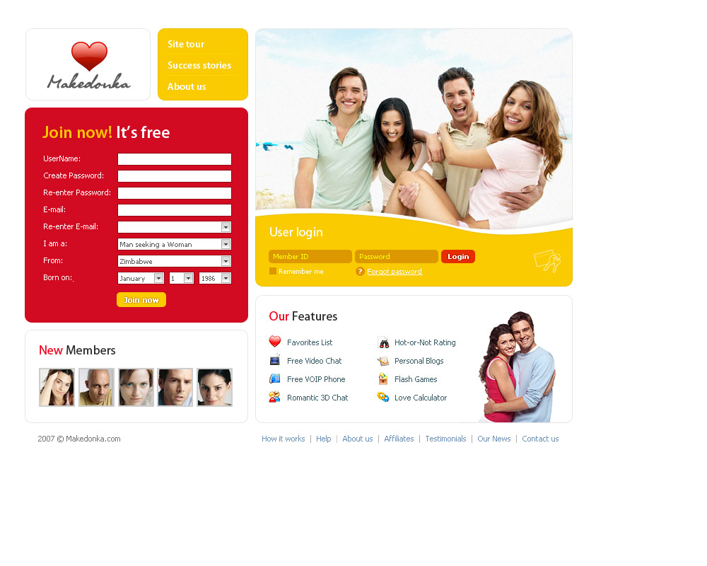 Free Dating Site In Republic Of Benin