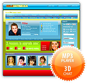 MP3 Player | 3D Chat